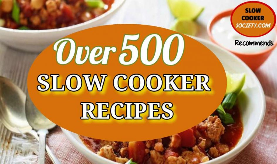 Slow Cooker Society recommends the 500+ Cookbook recipes https://slowcookersociety.com/get-500-crockpot-recipes/