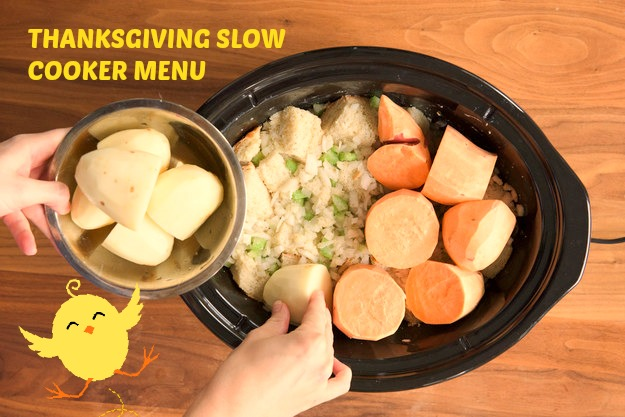 Full Thanksgiving Dinner In a Slow Cooker Yummy