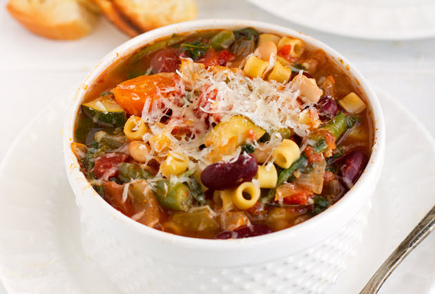 Slow Cooker Minestrone Soup YUMMY