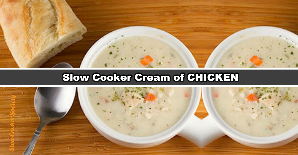 Crock Pot Cream Of Chicken And Wild Rice Soup
