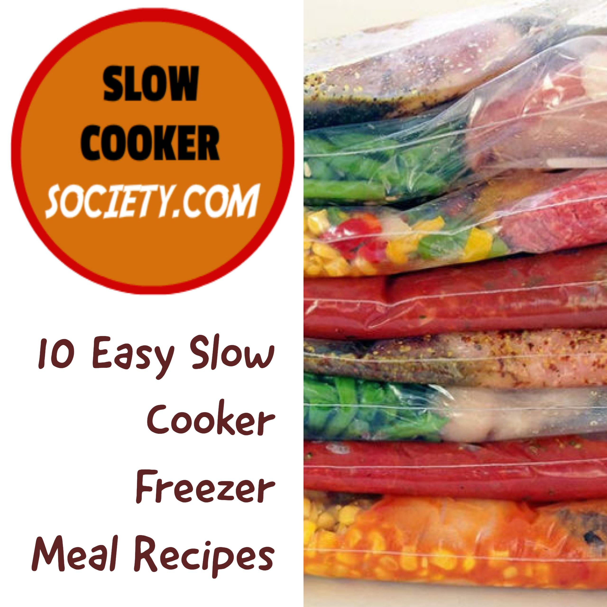 10 Easy Slow Cooker Freezer Meal Recipes
