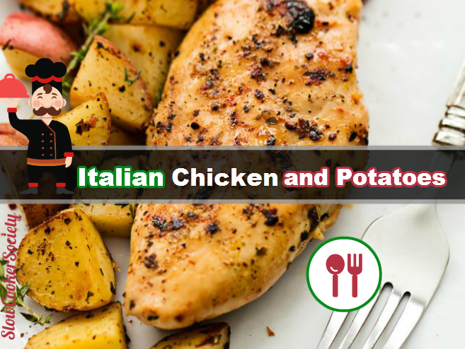 This Italian Chicken is such an easy meal to make, but packed with such amazing flavor! The entire family will love this hearty meal all in one. As seen on SlowCookerSociety.com