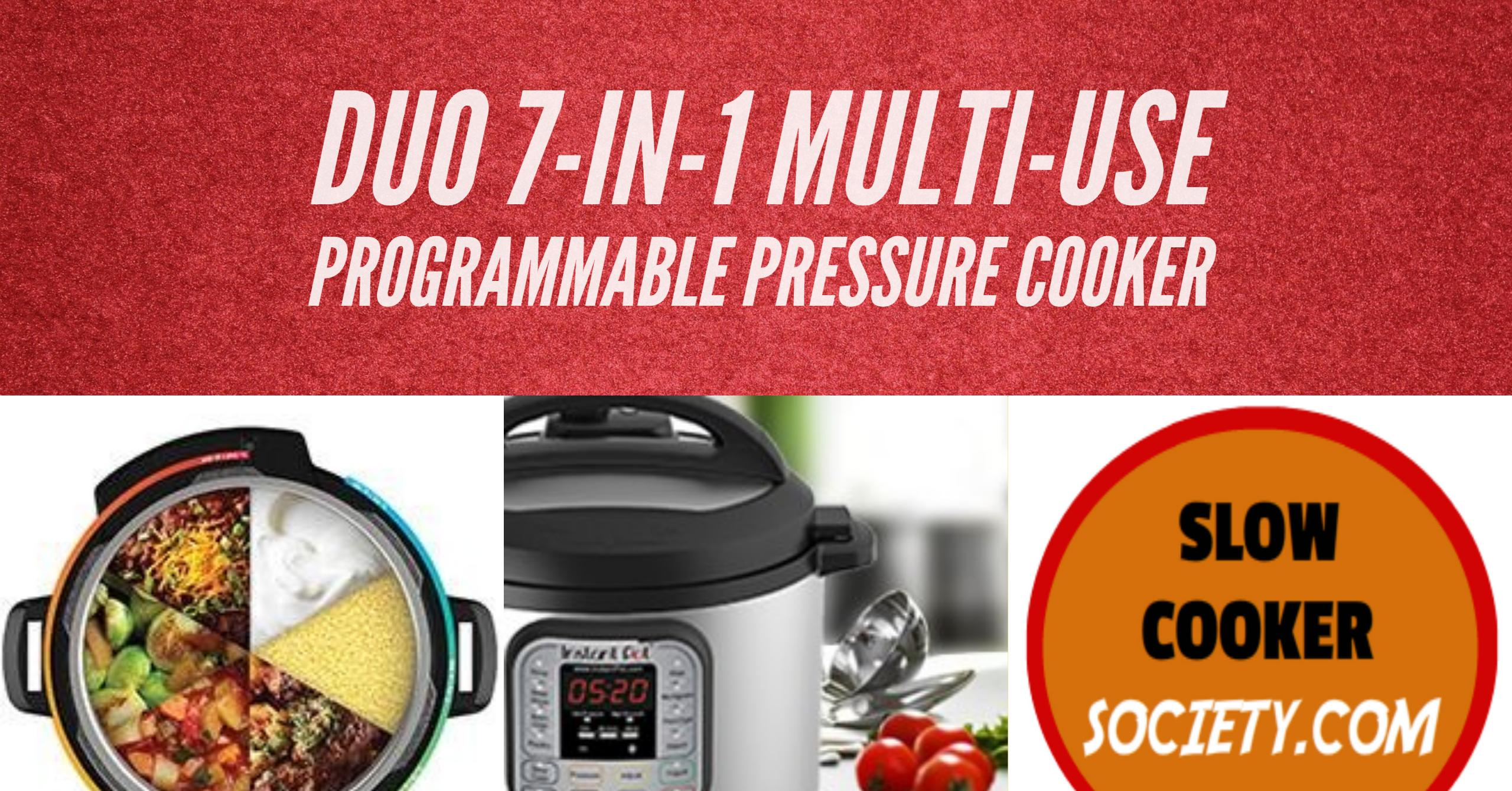 Review Instant Pot DUO80 7-in-1