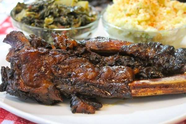 Full proof Slow Cooker Beef BBQ Ribs Recipe Crock Pot Barbecue Ribs - Perfect When You Can't Fire Up the Grill as seen on SlowCookerSociety.com