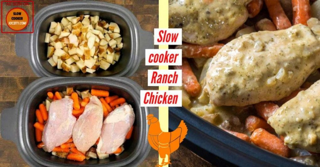 Creamy Ranch Chicken as Seen on SlowCookerSociety FB