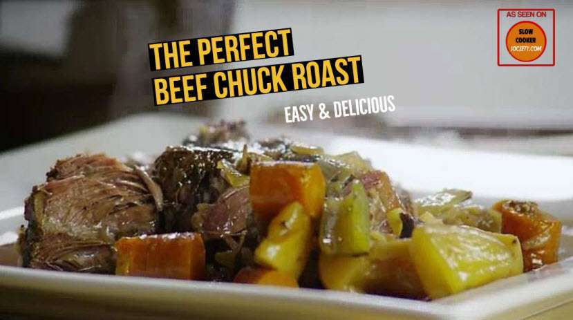 The Perfect Slow Cooker Beef Pot Roast as Seen on SlowCookerSociety