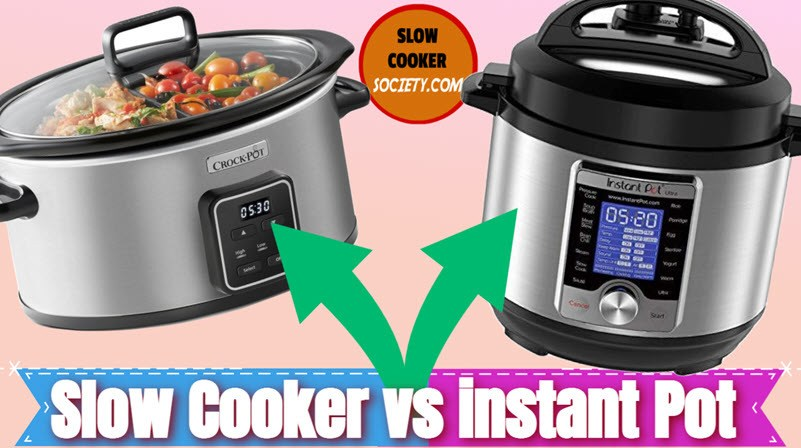 Instant Pot vs Slow Cooker Which one is best as seen on SlowCookerSociety.com1