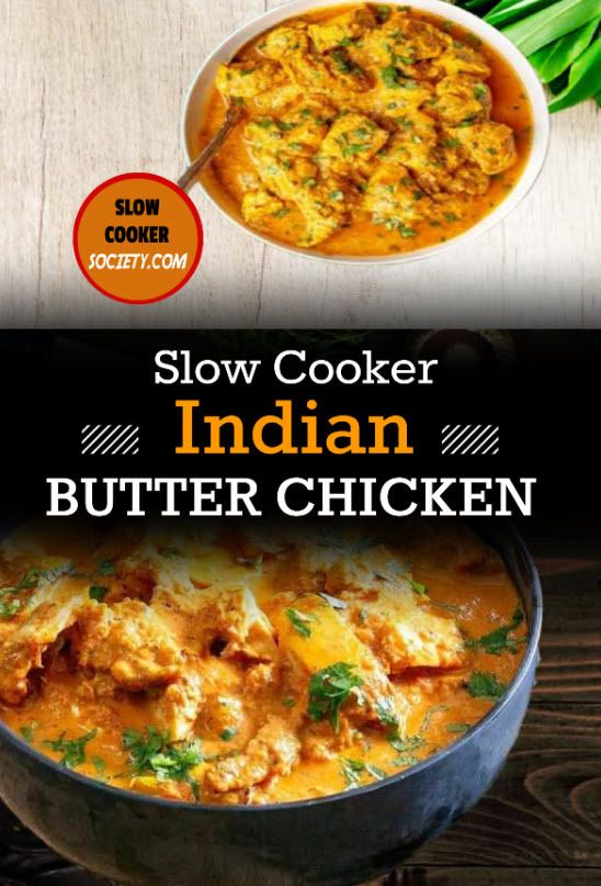 Slow Cooker Indian Chicken SlowCookerSociety 2.com